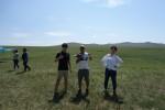 MONGOL 国領院 草原でジャンプ編