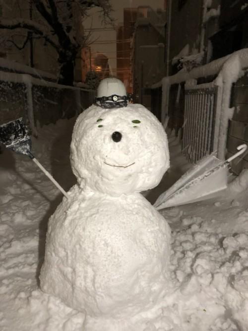 雪を満喫!!