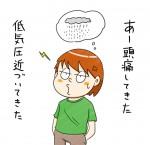 気象病(頭痛)の患者さん
