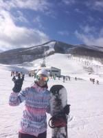 スノーボードに行ってきました。